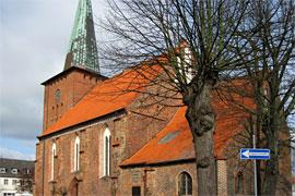 Stadtkirche in Neustadt in Holstein