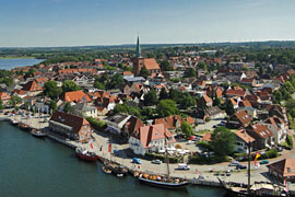 Luftbild Stadtführung in Neustadt
