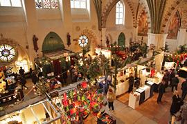 Kunsthandwerkermarkt im Heiligen-Geist-Krankenhaus in Lübeck
