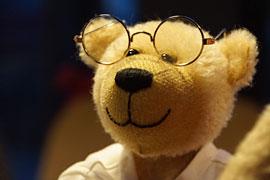 Teddybär auf dem Kiwanis Adventsbasar in Travemünde
