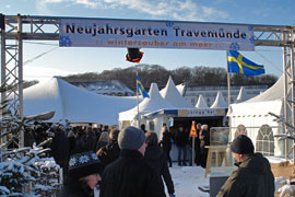 Neujahrsgarten in Travemünde