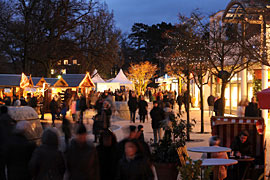 Weihnachtsmarkt in Timmendorfer Strand