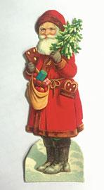 Weihnachtsmann-Oblate © Weihnachtshaus Husum