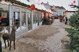 Weihnachtswunderland an der Obertrave in Lübeck