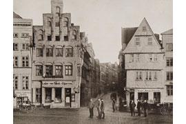 Holstenstrasse um 1887 © unbekannt
