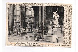 Postkarte aus Florenz von Heinrich Mann © Buddenbrookhaus Lübeck