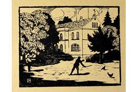 August Emil Ackert - Schule