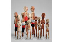 Hilfsgeister Ghana Sammlung Antes © Rémi Bazan
