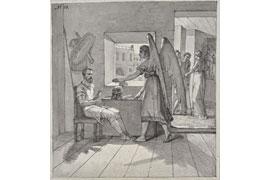 Friedrich Overbeck - Der Hauptmann Cornelius und der Engel -1808