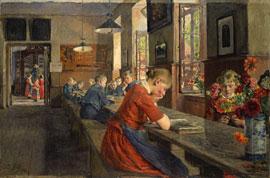 Gotthardt Kuehl: Lübecker Waisenhaus, 1894 © Die Lübecker Museen