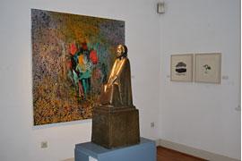 Jorge Rando - Ernst Barlach Museum Ausstellungsansicht
