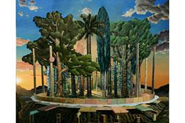 Maxim Brandt - Innere Emigration, 2013, 120 x 145 cm, Öl auf Leinwand