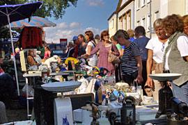 Eutin Großflohmarkt auf dem Stadtfest