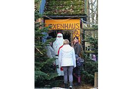 Hexenhaus Weihnachtsmarkt Traventhal