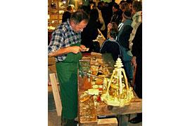 Erzgebirgischer Kunsthandwerker-Weihnachtsmarkt in Bad Schwartau